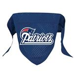 View Image 1 of New England Patriots Mesh Dog Bandana