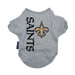 View Image 1 of New Orleans Saints Dog T-Shirt