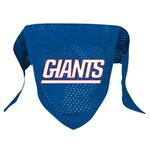 New York Giants Mesh Dog Bandana
