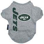 View Image 1 of New York Jets Dog T-Shirt