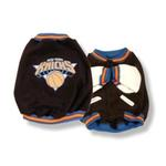 View Image 1 of New York Knicks Fleece Dog Jacket