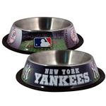 View Image 1 of New York Yankees Dog Bowl