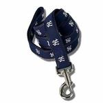 View Image 1 of New York Yankees Woven Ribbon Dog Leash