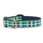 Newport Plaid Dog Collar by Up Country