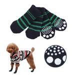 View Image 1 of Nitty-Gritty Dog Socks by Puppia - Navy