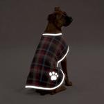 View Image 2 of Nor'easter Dog Blanket Coat - Chive
