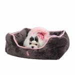 View Image 1 of Nursing Dog Bed by Pinkaholic  - Gray