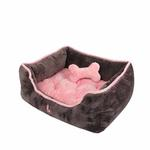 View Image 3 of Nursing Dog Bed by Pinkaholic  - Gray