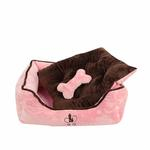 View Image 2 of Nursing Dog Bed by Pinkaholic  - Pink