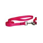 Nylon Brites Dog Leash by Guardian Gear - Flamingo Pink