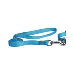 View Image 1 of Nylon Brites Dog Leash by Guardian Gear - Malibu Blue