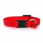 View Image 2 of Nylon Cat Collar - Red