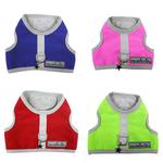 View Image 3 of Nylon-Fleece Dog Vest Harness - Red