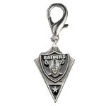 View Image 1 of Oakland Raiders Pennant Dog Collar Charm