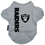 View Image 1 of Oakland Raiders Dog T-Shirt