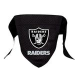 View Image 1 of Oakland Raiders Mesh Dog Bandana