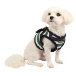View Image 1 of Ocean Mist Dog Harness Vest by Puppia - Green