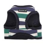 View Image 3 of Ocean Mist Dog Harness Vest by Puppia - Green