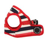 View Image 2 of Ocean Mist Dog Harness Vest by Puppia - Red
