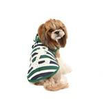 View Image 3 of Ocean Mist Dog Hoodie by Puppia - Green