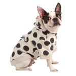 View Image 1 of Odette Dog Hoodie by Pinkaholic - Oatmeal