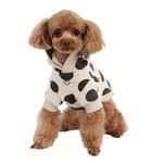 View Image 2 of Odette Dog Hoodie by Pinkaholic - Oatmeal