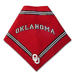 View Image 1 of Oklahoma Sooners Dog Bandana - Red
