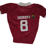 View Image 1 of Oklahoma Sooners Dog Jersey