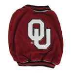 View Image 1 of Oklahoma Sooners Fleece Dog Jacket