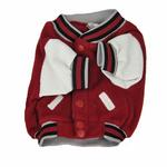 View Image 2 of Oklahoma Sooners Fleece Dog Jacket