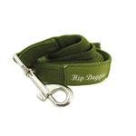 View Image 1 of Olive Fur Leash by Hip Doggie