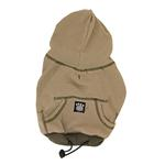 View Image 3 of On-the-Go Thermal Dog Hoodie - Taupe