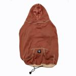 View Image 1 of On-the-Go Heathered Dog Hoodie - Spice Heather