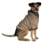 View Image 1 of On-the-Go Thermal Dog Hoodie - Taupe