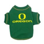 View Image 1 of Oregon Ducks Dog T-Shirt - Green