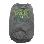 View Image 3 of Oregon Ducks Dog T-Shirt - Grey