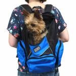 View Image 8 of Outward Hound Backpack Pet Carrier - Blue