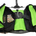 View Image 3 of Outward Hound Dog Backpack - Green