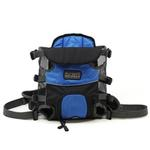 View Image 4 of Outward Hound Legs Out Front Dog Carrier - Blue