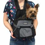 View Image 3 of Outward Hound Pet-A-Roo Front Carrier - Black