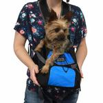 View Image 4 of Outward Hound Pet-A-Roo Front Carrier - Blue