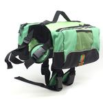 View Image 1 of Outward Hound Quick Release Dog Backpack - Green