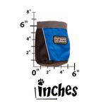 View Image 3 of Outward Hound Treat 'N Ball Bag - Blue and Black