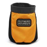 Outward Hound Treat 'N Ball Bag - Orange and Black