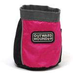 View Image 1 of Outward Hound Treat 'N Ball Bag - Pink and Black