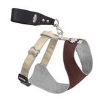 View Image 1 of Over the Head Comfort Harness - Brown/Tan