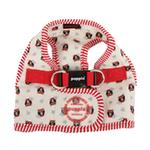 View Image 3 of Owlet Dog Harness by Puppia - Ivory