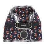 View Image 4 of Owlet Dog Harness by Puppia - Navy