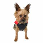 View Image 4 of Padded Dog Vest by Gooby - Red/Black
