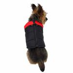 View Image 2 of Padded Dog Vest by Gooby - Red/Black